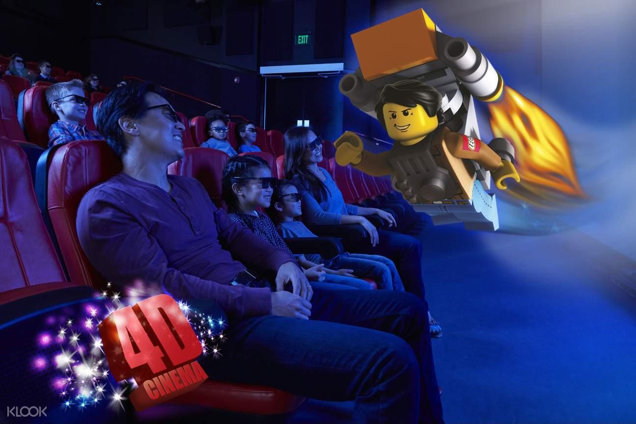 audience in 4d cinema